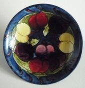 William Moorcroft 'Wisteria' Dish c1920